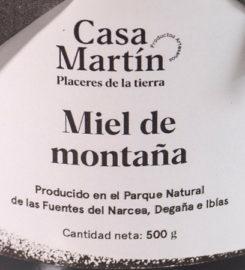 Casa Martín. Miel. Alimentos del Paraíso Natural.