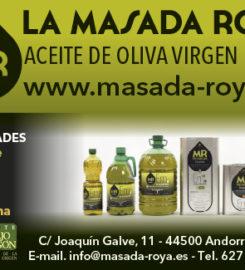 Aceite La Masada Roya